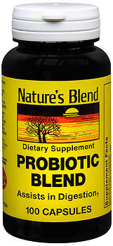 Nature's Blend Pro-biotic Blend Capsules - 100 CAP