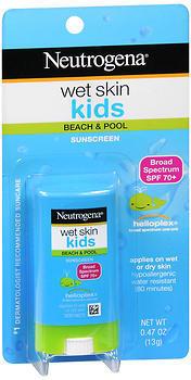 Neutrogena Wet Skin Kids Sunscreen SPF 70+ - 0.47 OUNCE