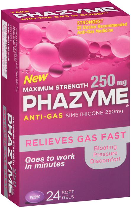 Phazyme Anti-Gas Softgels Maximum Strength - 1 EACH