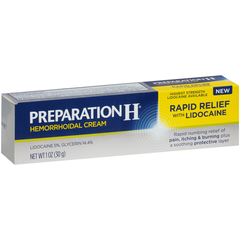 Preparation H Hemorrhoidal Cream Rapid Relief - 1 OUNCE