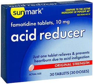 Sunmark Acid Reducer 10 mg Tablets - 30 TAB
