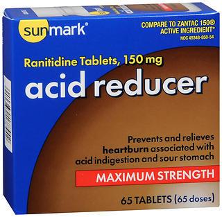 Sunmark Acid Reducer 150 mg Tablets - 65 TAB