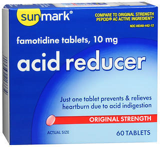 Sunmark Acid Reducer Tablets Original Strength - 60 TAB