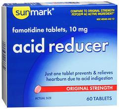 Sunmark Acid Reducer Tablets Original Strength - 60 TAB