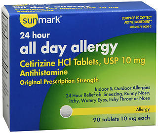 Sunmark All Day Allergy Tablets - 90 TAB