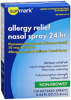 Sunmark Allergy Relief Nasal Spray 24 hr - 1 EACH