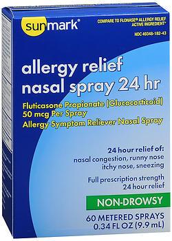 Sunmark Allergy Relief Nasal Spray 24 hr - 1 EACH