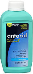 Sunmark Antacid Liquid Maximum Strength Original - 12 OUNCE