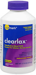 Sunmark Clearlax Powder Unflavored - 17.9 OUNCE