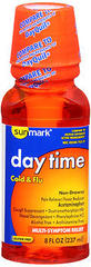 Sunmark Day Time Cold & Flu Liquid Multi-Symptom Relief - 8 OUNCE