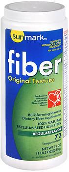Sunmark Fiber Laxative Original Texture Regular Flavor - 19 OUNCE