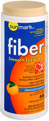 Sunmark Fiber Laxative Smooth Texture Orange Flavor - 20.3 OUNCE