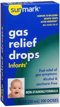 Sunmark Infants' Gas Relief Drops - 1 OUNCE