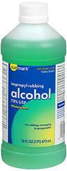 Sunmark Isopropyl Rubbing Alcohol 70% USP Wintergreen - 12 EACH