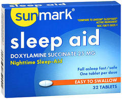 Sunmark Sleep Aid 25 mg Tablets - 32 TAB