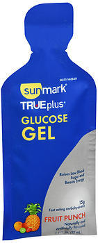 Sunmark TRUEplus Glucose Gel Fruit Punch - 6 EACH