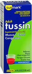 Sunmark Tussin Cough Formula Liquid Original Flavor - 4 OUNCE