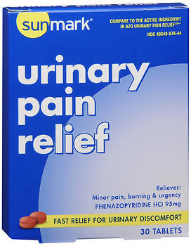 Sunmark Urinary Pain Relief Tablets - 30 TAB