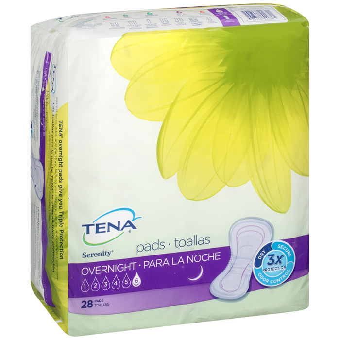 TENA Serenity Overnight Pads Ultimate Absorbency - 28 EACH