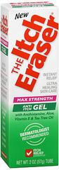 The Itch Eraser Anti-Itch Gel Max Strength - 2 OUNCE