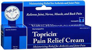 Topricin Pain Relief Cream - 2 OUNCE