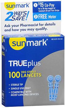 TRUEplus Sterile Lancets 28 G - 100 EACH