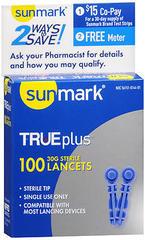 TRUEplus Sterile Lancets 30 G - 100 EACH