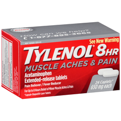 TYLENOL 8HR Muscle Aches & Pain Caplets - 24 TAB
