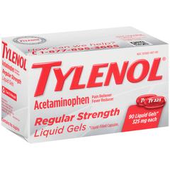 TYLENOL Regular Strength Liquid Gels - 90 CAP