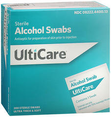 UltiCare Sterile Alcohol Swabs - 200 EACH