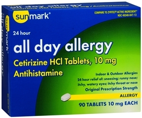 SUNMARK ALL DAY ALLER TAB 10MG 90 - 90 TAB