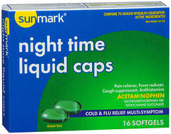 SUNMARK NITIMEPSE FREE SFTGL 16 - 16 CAP
