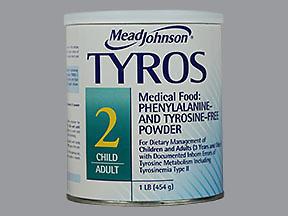 TYROS 2 POWDER DS 1LB - 16 OUNCE