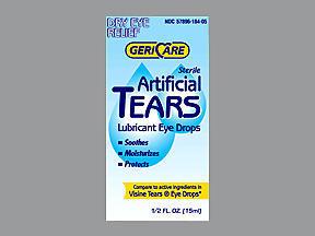 ARTIFICIAL TEARS 15ML - 1 EACH