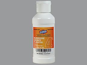 CHLORHEX SCRUB 4% APL 4OZ - 4 OUNCE