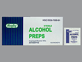 ALCOHOL PREP STER PADS MMP 100 - 100 EACH