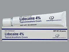 LIDOCAINE T/A CRM 4% ALV 30G@ - 1 EACH