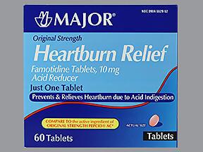 HEARTBURN RELF TAB MMP 60 - 60 TAB