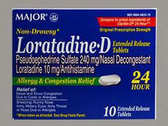 LORATADINE-D 24HR TAB MMP 10 - 10 TAB