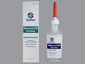 MINERAL OIL ENEMA GER 4.5OZ - 1 EACH