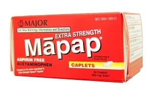 MAPAP CAPL 500MG MMP 50@ - 50 TAB