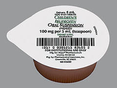 CHILD IBUPROFEN OS UD P/A100@ - 100 UNIT