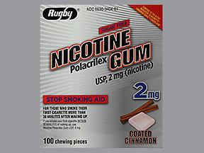 NICOTINE GUM 2MG CN RE MMP 1C@ - 100 EACH