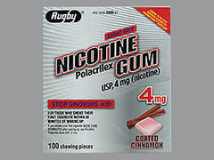NICOTINE GUM 4MG CN REF MMP1C@ - 100 EACH