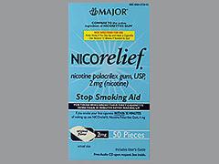 NICORELIEF GUM 2MG MMP 50 - 50 EACH