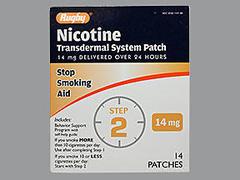 NICOTINE TRANS PTCH 14MG MMP14 - 14 UNIT
