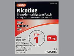 NICOTINE TRANS PTCH 21MG MMP14 - 14 UNIT