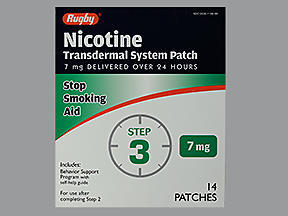 NICOTINE TRANS PTCH 7MG MMP 14 - 14 UNIT