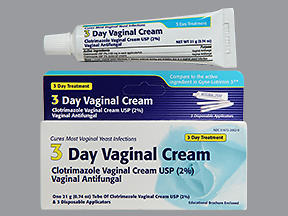 CLOTRIMAZ-3 VAG CRM TAR 21GM - 1 EACH