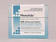 PHENYLADE MTE AA 12.8G CS30 DS - 0.43 OUNCE